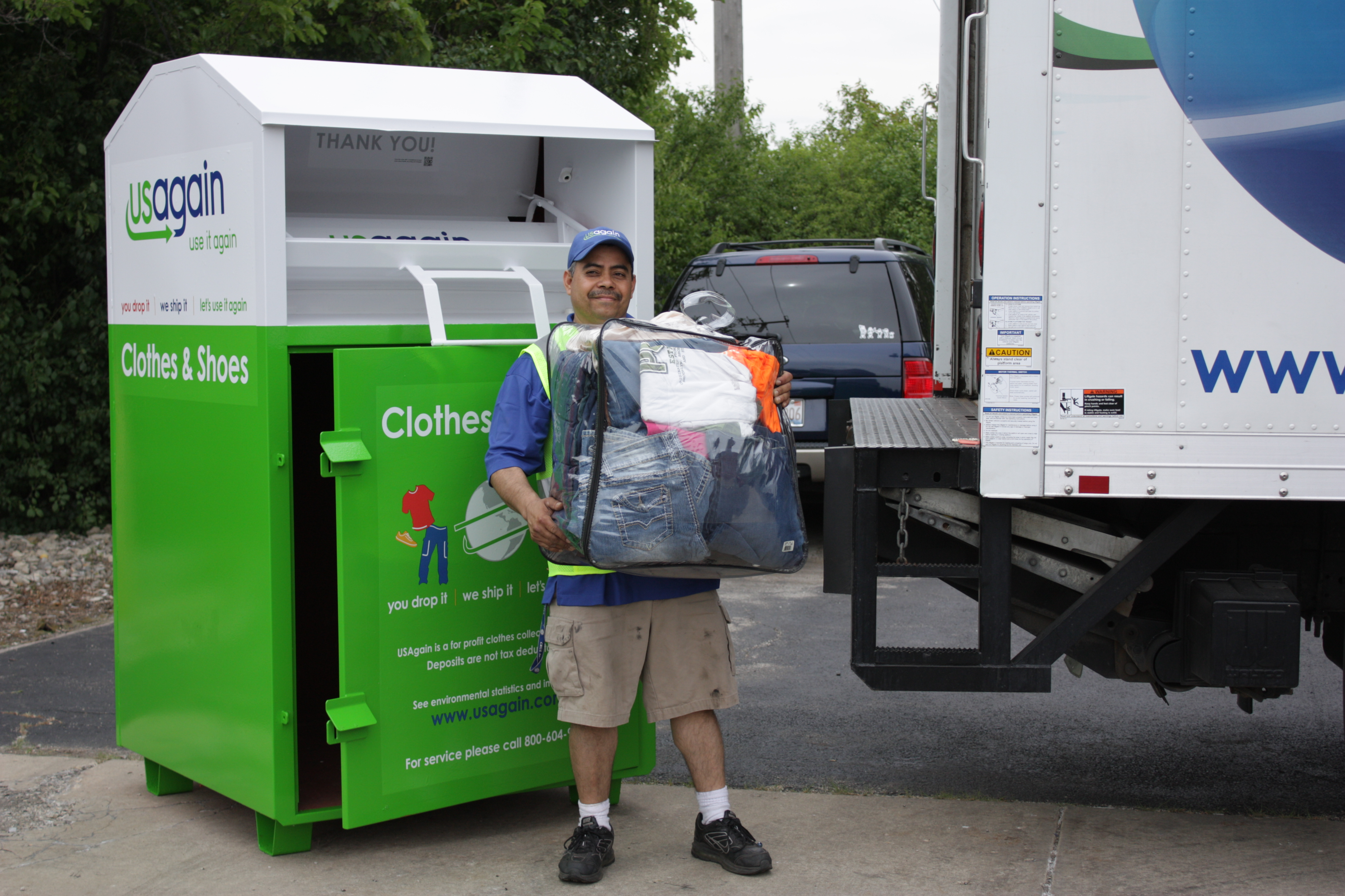 USAgain Offers Convenient, Eco-Friendly Textile Recycling Locations in the Evansville Area